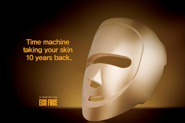 Eco face LED light mask