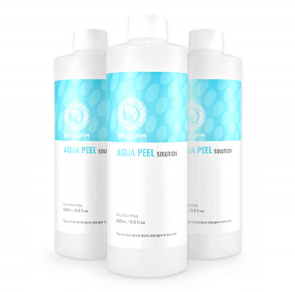 Abeluna aqua-peel solution 3 bottles