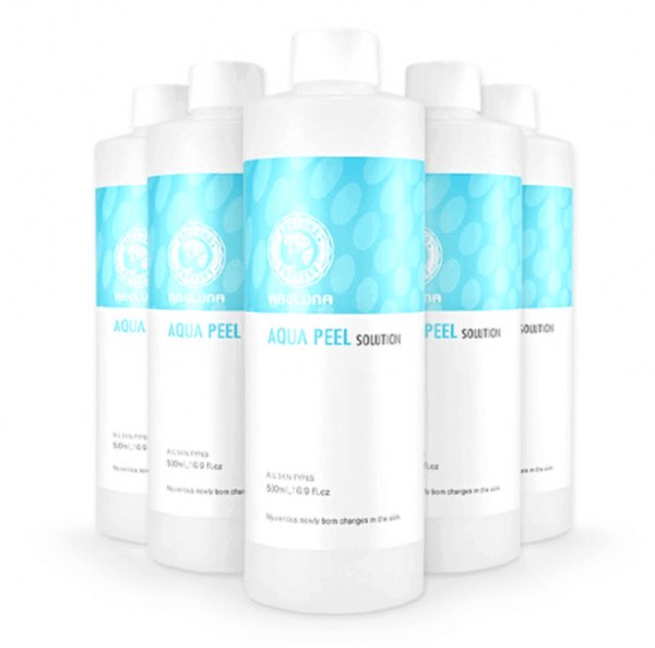 Abeluna aqua-peel solution 5 bottles
